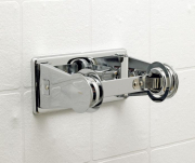 Zinc Plated Toilet Roll Holder - Single