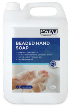 ACTIVE Lemon Beaded Hand Soap 5 Litre