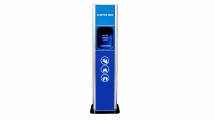 Sanitise Now Blue Freestanding Automatic Foam Sanitising Unit