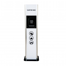 Sanitise Now White Freestanding Automatic Gel Sanitising Unit
