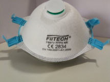 FFP3 Cup Type with Valve Personal Protection Mask