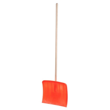 Snow Shovel with wooden handle