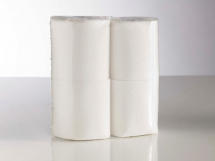 2ply White Large Toilet Rolls White