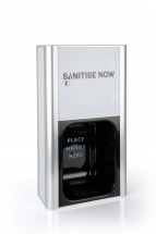 White Wall Mount - Foam Sanitisenow Dispenser