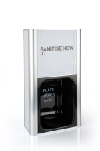 White Wall Mount - Liquid Sanitisenow Dispenser